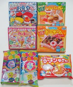 4Pcs Popin Cookin Happy Kitchen Kracie Japanese Candy Ramune Gummy ...