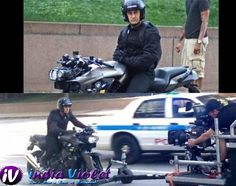 Dhoom 3 : Aamir Khan Spotted in BMW K1200R - The Ultimate Film Magazine - Bollywood   Hollywood   Gossips   Latest News - India Violet