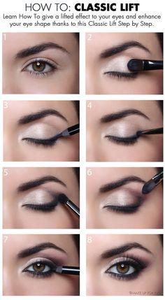 Müde Augenlid Make-up - Make-up Ideen - lose Augenlid Make-up . - Schlaffes Augenlid-Make-up – Make-up-Ideen – Lockeres Augenlid-Make-up - Eye Makeup Blue, Eye Makeup Steps, Pink Makeup, Beauty Makeup, Hair Makeup, Makeup Set, Brown Makeup, Beauty Skin, Teen Makeup