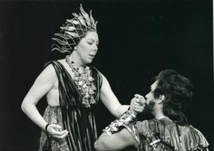 """Scottish Opera - """"We had the chance to work with Dame Janet Baker - here she is in our 1978 Dido & Aeneas"""""""