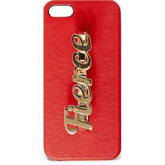Steve Madden Women's Bfiercee ($4.99) ❤ liked on Polyvore featuring accessories, tech accessories, phone cases, phone, iphone cases, red, leopard print iphone case, iphone cell phone cases, leather iphone case and red iphone case