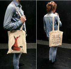 Fox handmade bag. DIY. The little Prince.