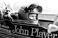 Ronnie Peterson on Lotus F1