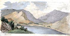 Grassmere Lake district 1850