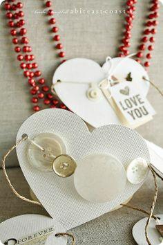 Heart garland-buttons! Keisha Campbell