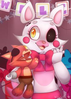 FNAF   Mangle/Foxina cute!!