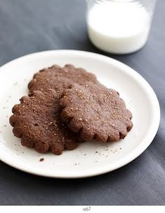 Chocolate Ginger Cookies Recipe on Yummly
