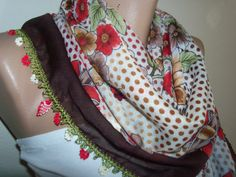 Gorgeous Turkish Traditional YemeniOyaFloral by colourfulrose, $22.90