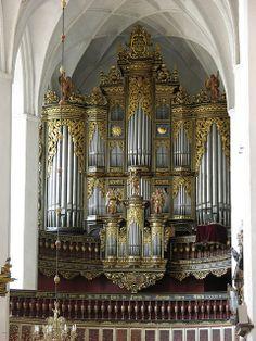 Luckau - Saint Nicholas Church, organ | Flickr - Photo Sharing!