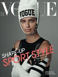 Adriana Lima, photo by Steven Meisel, Vogue Italia, June 2014*  Toto je uplne zaklad. Extravagantna kombinacia oblecenia, dokonaly make-up, dokonale svetlo a kvalita fotky, pekna modelka