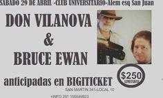 Don Vilanova nuevamente de visita por nuestra ciudad junto al prestigioso armoniquista Bruce Ewan desde USA. Con Palito Corbera y los marc...