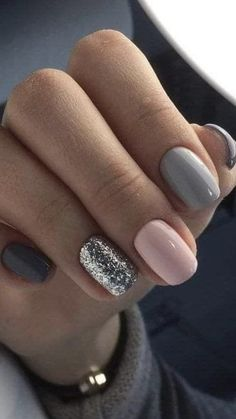 Minimalist nail art for You to make yourself look elegant and fashionable - Nail. - Minimalist nail art for You to make yourself look elegant and fashionable – Nails # - Classy Nails, Stylish Nails, Simple Nails, Hair And Nails, My Nails, Fall Nails, Vegas Nails, Fall Manicure, Glitter Gel Nails