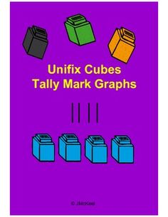 $1.50This unifix cube themed product contains 9 graphs for students to practice tally marks.