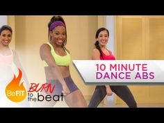 My favorite Youtube workouts: 10 Minute Cardio Dance Abs Workout: Burn to the Beat- Keaira LaShae. Watching myself try to do this in the mirror was hilarious - I'll never be a dancer. But definitely a fun and fast workout!