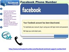 """Is Facebook Phone number truly so difficult to recall1-850-316-4893? """"Yes, our Facebook Phone Number 1-850-316-4893 is day in and day out working telephone number and at whatever points you will make a ring on this number; you will be diverted to our tech authorities. These geeks are very qualified and educated to adapt up to every single sort of Facebook glitches inside limited ability to focus time. For more information…"""