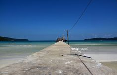 Koh Rong Samloem jetty island, Cambodia, Asia.  #getty #gettyimages #purchase #moment #rf #photo #photograph #photography #koh #rong #kohrong