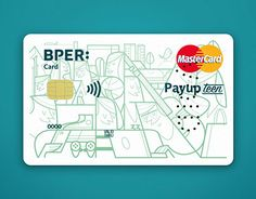 Artwork for a credit card customization More