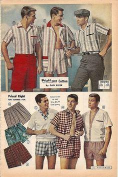1950s Men's Shirt Styles - Dress Shirts to Casual ...