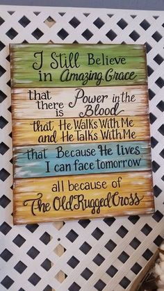 New quotes christian songs prayer ideas Pallet Crafts, Pallet Art, Pallet Signs, Pallet Projects, Wood Crafts, Projects To Try, Diy Wood, Art Projects, Diy Pallet