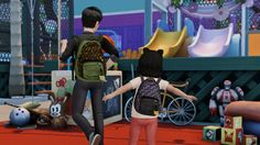 Sims 4 The Last of Us Ellie Backpack Accessory