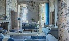 Gorgeous, dreamy shades of blue from the SS13 Seraphina Collection http://www.designersguild.com/fabric-and-wallpaper-showroom/view-all-collections/seraphina-fabrics/#.UTXYOBl58rg