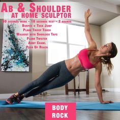 At Home Shoulder and Ab Sculptor