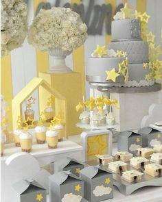 Olha que linda esta decoração de Chá d Bebê! Decoração Taller de Celebraciones. Lindas ideias e muita inspiração! Bjs, Fabiola Teles. ...