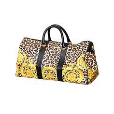 60b954d65a3c Gianni Versace Baroque Print Duffle Bag