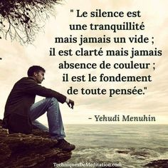 Le silence... Citation Silence, Quote Citation, Citations Souvenirs, Motivational Messages, Inspirational Quotes, Altered State Of Consciousness, Strong Words, Sweet Words, Human Nature