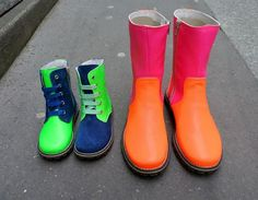 Fluo [Chat Mechant]  #chaussures #shoes #neon