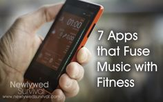 7 Smartphone Apps that Fuse Music with Fitness - Newlywed Survival Fitness Nutrition, Health And Nutrition, Health And Wellness, Workout Music, Exercise Music, Fitness Gadgets, Baby Fat, Physical Fitness, Fitness Music