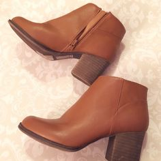 F21 booties I wore these only one time. They're super cute & in good condition. Selling bc I have way too many shoes lol. Forever 21 Shoes Ankle Boots & Booties
