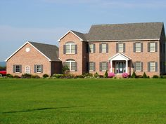 Brick two-story #home