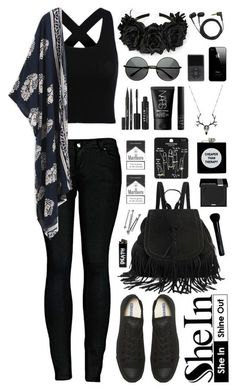 47 best edgy summer outfits images in 2016 Cute Emo Outfits, Teenage Outfits, Edgy Outfits, Mode Outfits, Grunge Outfits, Pretty Outfits, Batman Outfits, Hipster Outfits, Simple Black Outfits
