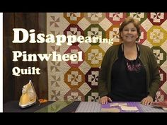 Disappearing Pinwheel Quilt - Quilting Made Easy - Missouri Star Quilt Company--YouTube  This is very COOL!