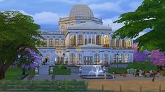 Mod The Sims - St. Sims Cathedral in Magnolia Blossom Park.