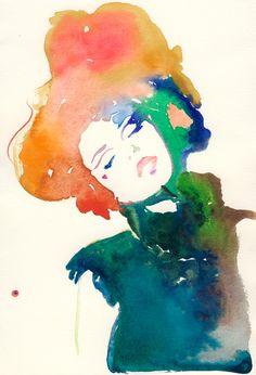 Cate Parr Watercolor