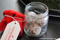 Geschenk 1. Advent * Alex vom Tortenschlaraffenland an Andi von cook, eat an chill(i) * Kokoskugeln