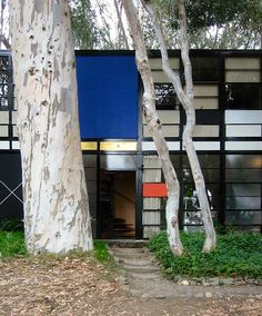 The Eames house.