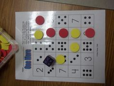 math worksheet : ten frame spinnerthe ideas are endless!  amsti math  : Kindergarten Math Center Games