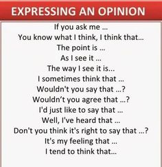 Useful English Expressions for Conversation