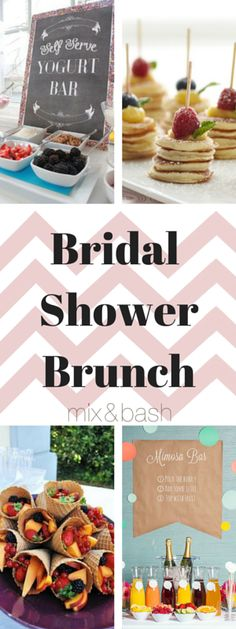 Easy Bridal Shower Brunch Menu – Mix and Bash