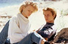 RUNNING ON EMPTY, Martha Plimpton, River Phoenix, 1988 | Essential Film Stars, River Phoenix http://gay-themed-films.com/river-phoenix/