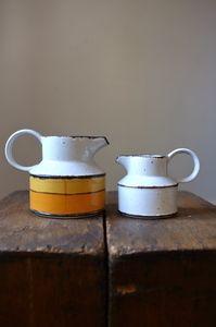 Set of ceramic jugs