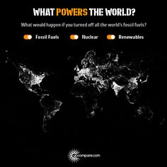 WORLD Flick the switches to see where the world would go dark without fossil fuels, which countries rely the most on nuclear, and who is using entirely renewable power to keep the lights on. (GoCom…