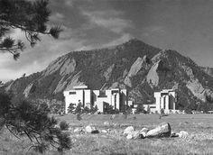 NCAR- National Center for Atmospheric Research. I.M. Pei. 1961-67. Boulder, Colorado.