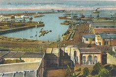 Le port de Casablanca 1915
