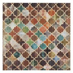 Tile Pattern Moroccan Canvas