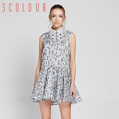 Trei culori 2015 nouă primăvară rochie de cumpărături cu banii lovit de brodat de culoare fără mâneci elegant rochie S510407L30 High Neck Dress, Dresses, Fashion, Turtleneck Dress, Vestidos, Moda, Fashion Styles, The Dress, Fasion