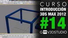 Introducción a 3ds Max 2012 -14- Construcción objetos complejos - modelado orgánico.